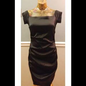 💎BETSY & ADAM Size 12 little black dress LBD
